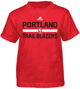 adidas Little Boys' Portland Trail Blazers Practice Wear Graphic T-Shirt