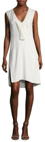Narciso Rodriguez Crepe Fit And Flare Dress