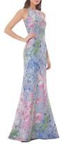 Carmen Marc Valvo Women's Brocade Gown