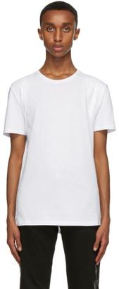 Alexander McQueen White Harness T-Shirt