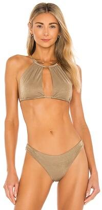 Beach Bunny Madison High Apex Bikini Top