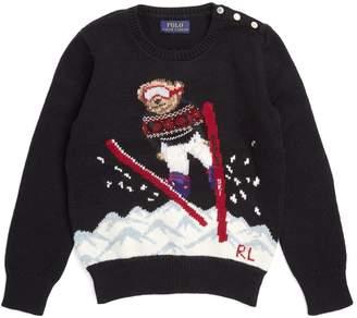 Ralph Lauren Ski Polo Bear Sweater