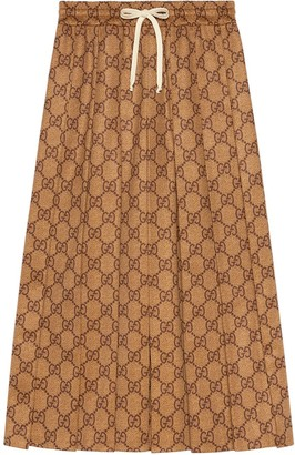 Gucci GG technical jersey skirt