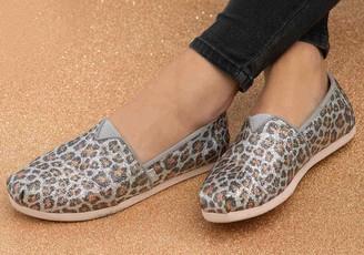 Toms Glitter Cheetah Print Women's Classics