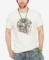 Denim & Supply Ralph Lauren Men's Biker Skull Logo T-Shirt