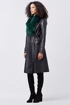 Diane von Furstenberg Valinda Leather Coat