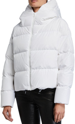 Bacon Hooded Short Down Jacket
