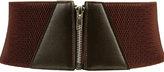 Zipper Waist Belt