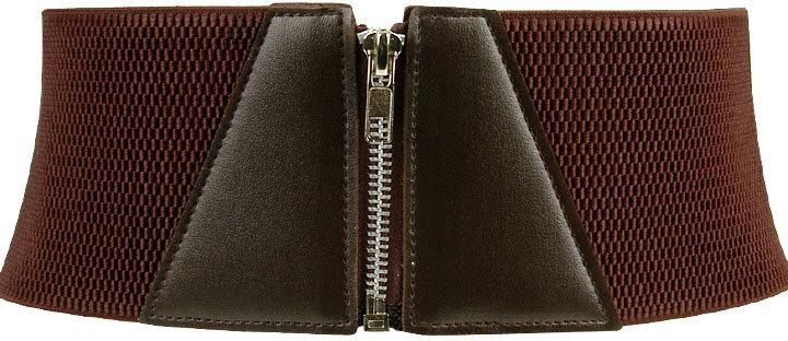 Forever 21 Zipper Waist Belt