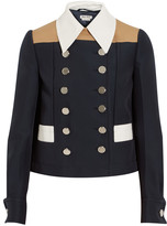 Miu Miu Color-block twill jacket