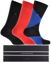 Tommy Hilfiger 3 Pack Socks Navy