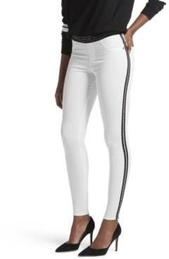 KENDALL + KYLIE Metallic Side Stripe Leggings