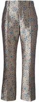 Lanvin jacquard brocade trousers