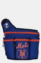 Diaper Dude 'New York Mets' Messenger Diaper Bag