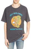 Obey Men's Eagle Dissent & Chaos Graphic T-Shirt