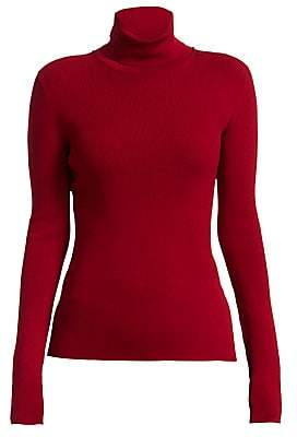 Helmut Lang Women's Rib-Knit Turtleneck Sweater
