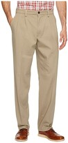 Dockers Easy Khaki D3 Classic Fit Pleated Pants (Timberwolf) Men's Clothing