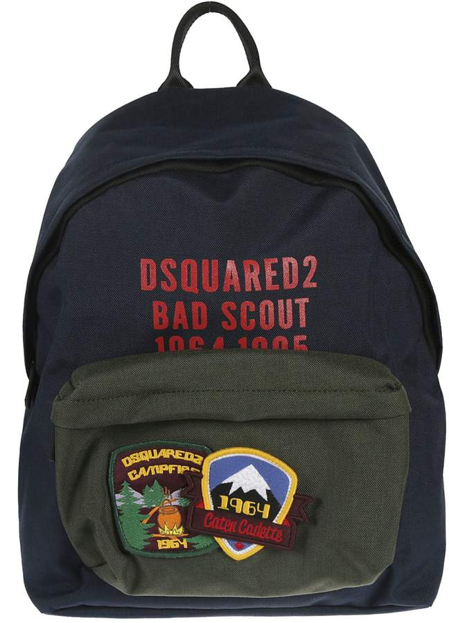 DSQUARED2 Patch Detail Backpack