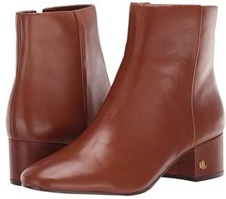 Lauren Ralph Lauren Welford (Black Leather) Women's Shoes