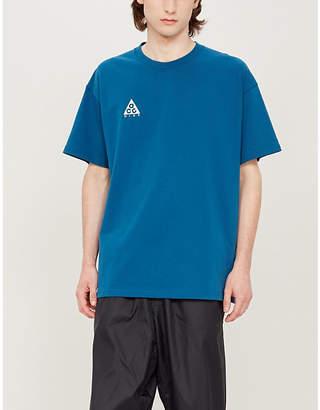 Nike Logo-print cotton T-shirt