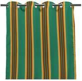 "Household Essentials Jordan Manufacturing Jordan 50"" x 96"" Outdoor Curtain Panel - Fiji Teal"