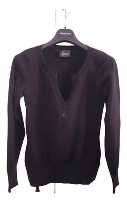 Peak Performance Black Cotton Knitwear for Women
