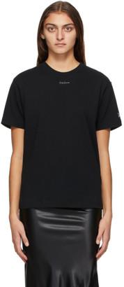 Yohji Yamamoto Black New Era Edition Small Logo T-Shirt