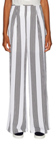 Lucca Couture Striped Wide Leg Pant