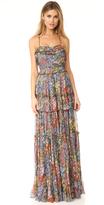 Needle & Thread Flowerbed Maxi Dress