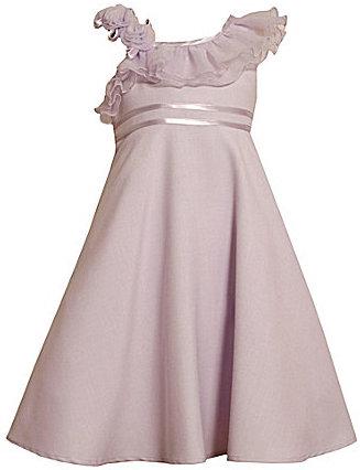 Bonnie Jean Plus Size One-Shoulder Dress