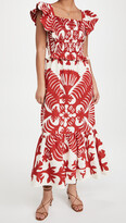 Thumbnail for your product : Sea Henrietta Print Smocked Dress