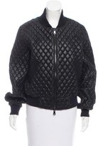 Milly Quilted Bomber Jacket