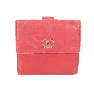 Chanel Pink Patent leather Wallets