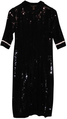 Louis Vuitton Black Cotton Dresses