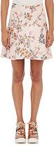 Stella McCartney Women's Floral Jacquard A-Line Skirt-PINK
