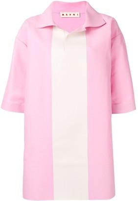 Marni Oversized Colour Block Shirt