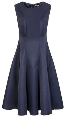 Dorothy Perkins Womens *Chi Chi London Navy Midi Skater Dress, Navy