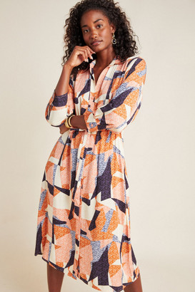 Corey Lynn Calter Abstract Shirtdress