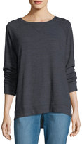 Allen Allen High-Low Raglan Top