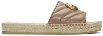 Gucci Pink Charlotte Espadrille Sandals