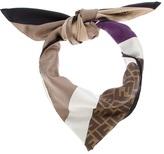 Fendi striped scarf