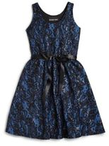 Un Deux Trois Girl's Sequin & Lace Dress