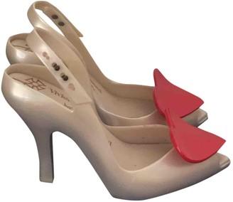 Vivienne Westwood Beige Rubber Heels