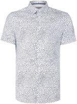 Linea Men's Dante Floral Spot Print Shirt
