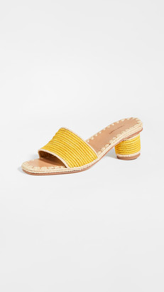 Carrie Forbes Bou Heeled Slides