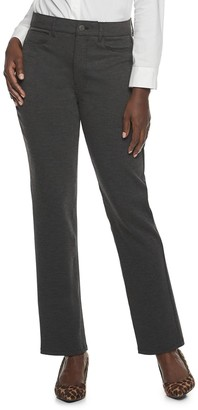Croft & Barrow Women's Straight-Leg Ponte Pants