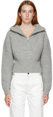 Jacquemus Grey La Maille Olive Sweater