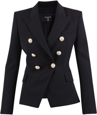Balmain Double-breasted Jacket Blazer