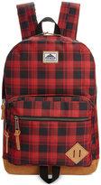 Steve Madden Men's Buffalo Plaid Classic Backpack