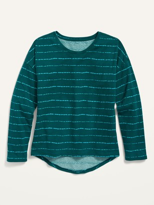 Old Navy Softest Long-Sleeve Crew-Neck Tee for Girls